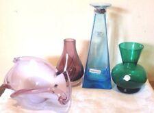 Green Vase Italian Art Glass