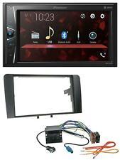 Pioneer MP3 2DIN USB AUX Bluetooth Autoradio für Audi A3 03-12 8P Quadlock