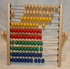 Ikea Abacus Counting Toy Math Homeschool Home School Colorful Educational