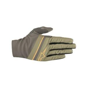 Alpinestars Aspen Plus Bicycle Cycle Bike Gloves Military Green