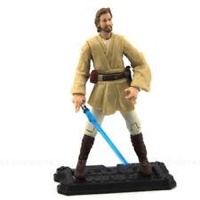 """STAR WARS Clone Wars 3.75"""" Obi-Wan OBIWAN Kenobi #45 Figure & Lightsaber Kid Toy"""