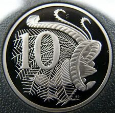 ****1995 10 cent proof coin from set. Only 48,537 made! Brilliant 10 cent coin!