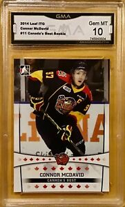 2014-15 ITG In The Game #11 - Connor McDavid - Rookie - GMA 10 Gem Mint