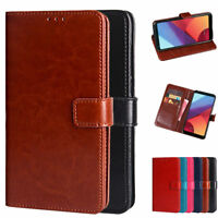 Dooqi Luxury PU Leather Wallet Card Flip Stand Cover Case For LG G6