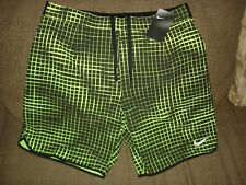 "NWT Nike Court Gladiator Printed 9"" Tennis Shorts 816056-702 Federer Nadal NEW L"