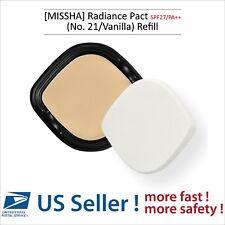 MISSHA Radiance Pact  SPF27/PA++ (No. 21/Vanilla) (Refill) - US Seller -