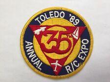 Toledo 1989 RC Expo Patch RC Vintage Model Airplane AMA Ohio