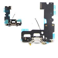 "IPhone 7 (4.7"") Unità Di Ricarica Bianco Porta Dock + Microfono & Jack Per Cuffie Cavo Flessibile"