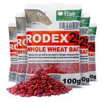 Rodex25 Rat Poison Mouse Killer Strong Whole Wheat Bait