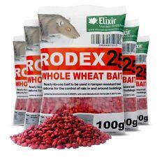 More details for rodex25 rat poison mouse killer strong whole wheat bait | 1kg - 20kg