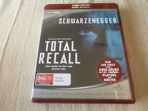 Total Recall HD DVD Region Free Arnold Schwarzenegger, Sharon Stone