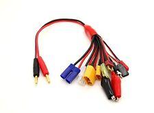 10 in 1 Multicharge Plug Adapter Set for EC5/XT90/XT60/Futabe/JST/Tamiya etc 1pc