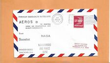 GERMAN RESEARCH SATELLITE AEROS B SCOUT BOOSTER JUL 16,1974 VAFB  SPACE COVER