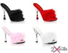 Pleaser High (3-4.5 in.) Mules Heels for Women