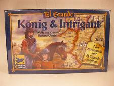 El Grande Erweiterung: König & Intrigant 1997 / NEU + OVP eingeschweißt / Spiel