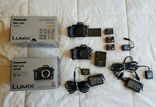 Two Panasonic LUMIX DMC-GH2 16.0MP Digital Cameras - Black (Body Only)
