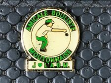 PINS PIN BADGE SPORT PETANQUE CLUB MOUTONNAISE