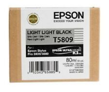 Tinta original Epson Stylus Pro 3800 3880/t5809 light light black Cartridge