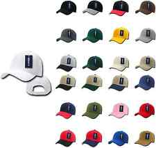 20 LOT DECKY Deluxe Polo Blank Baseball Hats Hat Caps Cap Wholesale Lot
