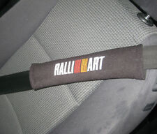 Seat Belt Harness Pads - Lancer Evolution RalliArt Logos