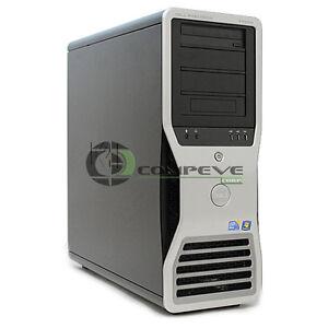 Dell Precision T7500 Workstation E5520 2.26GHz QC 6GB 500GB Matrox 256MB Win10