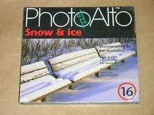 CD-ROM PHOTOALTO 16 / SNOW AND ICE /  IMAGES PROS LIBRE DE DROITS / NEUF