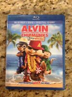 Alvin and the Chipmunks: Chipwrecked (Blu-ray Disc, 2012,2-Disc Set)Authentic US