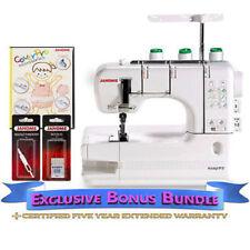 Janome-CoverPro 900CPX Coverstitch Machine Includes Exclusive BonusBundle