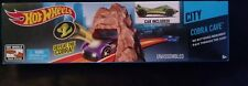 Hot Wheels City Cobra Cave Car Included Track System Connect to Other Sets Nib