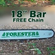"18"" Forester Bar W/Free Chain, Fits Stihl, 325 pitch, .063 gauge, 74 drive links"
