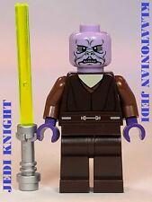 LEGO STAR WARS JEDI SUPER RARE KLATOOINIAN YODA MACE WINDU GEONOSISARMYBUILDER