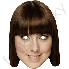 Melanie Chisholm, Mel C, SPORTY Spice Celebrità Maschera di carta. tutte le maschere sono pre-tagliati
