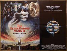 NEVERENDING STORY 2 (1990) - original UK quad film/movie poster, children's