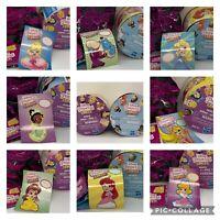 NEW Disney Princess Comics Minis Aurora Genie Ariel Cinderella Tiana Belle Rapzl