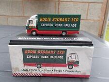 MAN L2000 BOX 4 WHEELTRUCK-'EDDIE STOBART'-'USED/BOXED