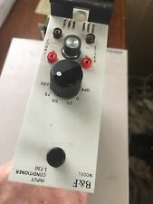 B&F INSTRUMENTS GD/CA55-01036-33 Input Conditioner Voltage