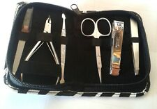 6 pc s  Manicure Set Nail Clippe Grooming Pedicure kit Man and  Woman new kit