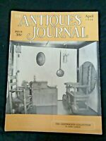 Antiques Journal 1954 Ruth Bascom Painting Greenwood Collection National Museum