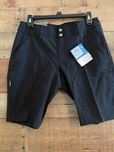 NEW NWT - Columbia Women's Saturday Trail Long Shorts -Black Size 8 - Retail $50