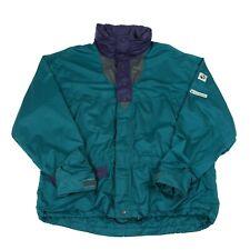 JACK WOLFSKIN Hooded Waterproof Jacket | Coat Shell Zip Hooded Rain Wind Vintage