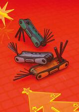 Faithfull 3 Piece Comfort Grip Folding Hex & Torx Key Set