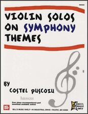Violin Solos on Symphony Themes Sheet Music Book