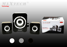 Altavoces para PC Audio Volumen Speaker 2.5W Portátil Ordenador Maxtech Nuevo