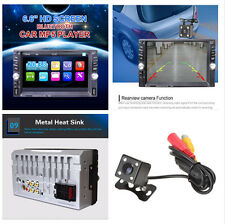 6.6-Inch HD Touch Screen Car MP5/MP4 Player Bluetooth Camera Aux Radio TFT TF