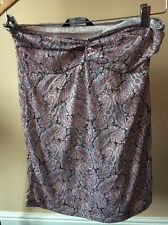Dorothy Perkins Paisley Pink Size 10 Strapless Tube Dress <T10120