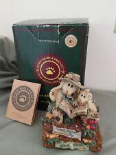 "Boyds Bears ""Daphne and Eloise"" Sf Music Box You've Got A Friend 2E/1578"
