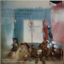 BAYER: The Doll Fairy/ADAM: Giselle-NM1960LP VIENNA SYMPHONY ORCHESTRA