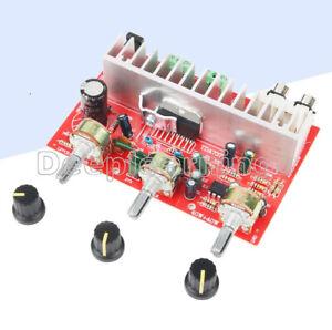 TDA7377 40W*2 Audio Amplifier Power Board Stereo 2.0 Treble Bass Adjustable