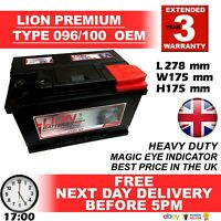 Sealed 3 Years Warranty Lion Batteries Car Battery 12V 70Ah Type 100 620CCA