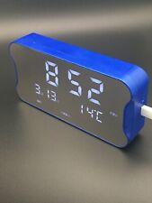 Digital Desk  mp3  Alarm clock Auto Adjust Brightness with temperature display